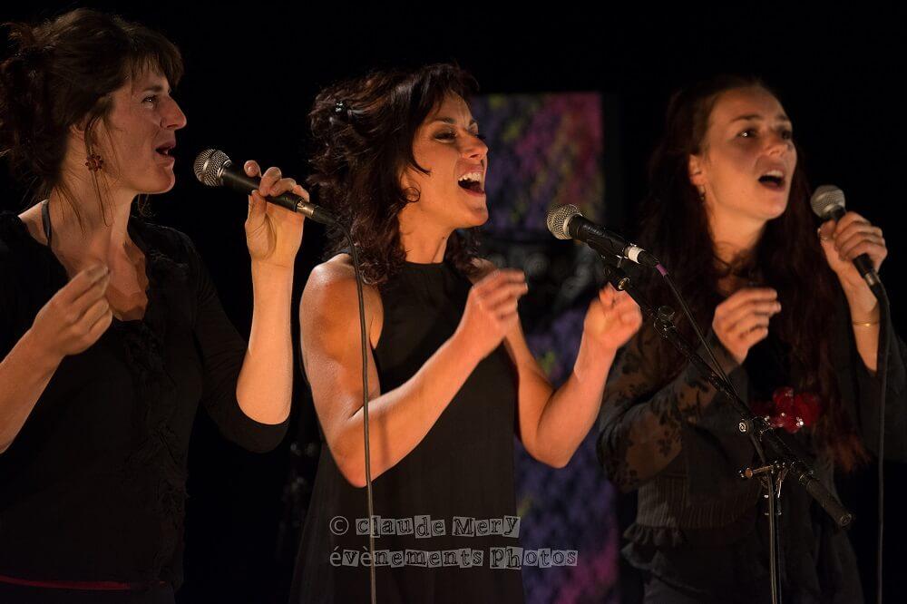 Les Têtes de Linettes en concert
