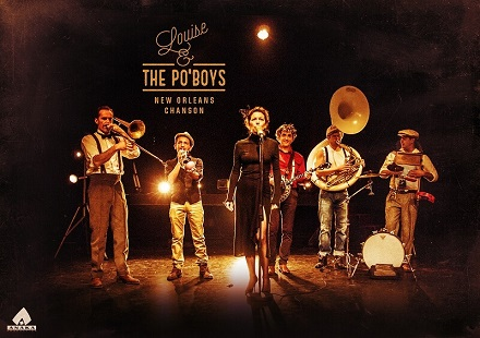 Louise & the Po'Boys-Affiche