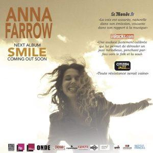 Anna FARROW - Forum de Berre - Berre l'Etang (13) @ Forum de Berre | Ribiers | Provence-Alpes-Côte d'Azur | France